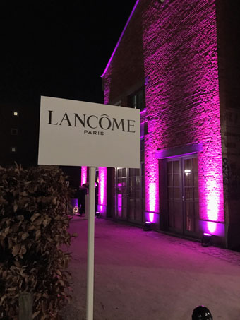 Lancôme Event (entrance)