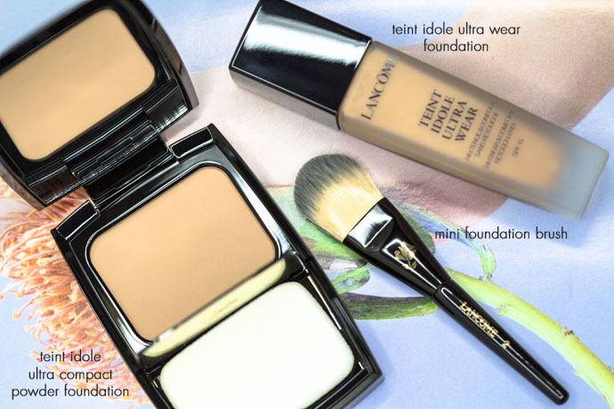 Lancôme I Teint Idole Ultra Wear Foundation & Teint Idole Ultra Compact & Mini Foundation Brush