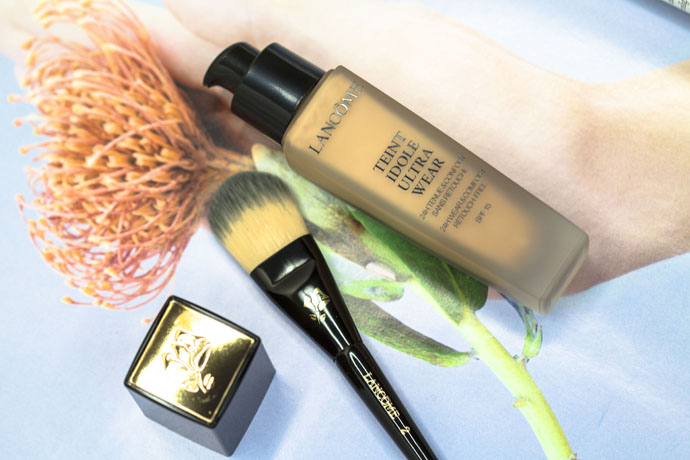 Lancôme I Teint Idole Ultra Wear Foundation 03 Beige Diaphane & Mini Foundation Brush
