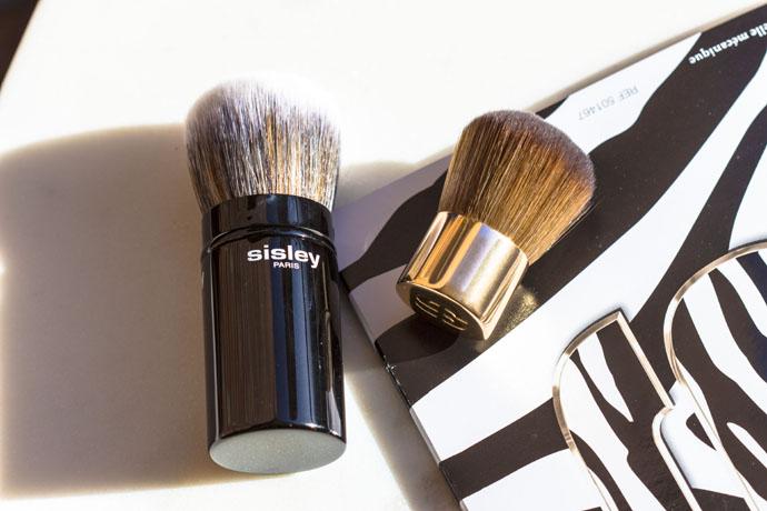 Sisley | Phyto-Touche Kabuki Brush & Mini Kabuki Brush
