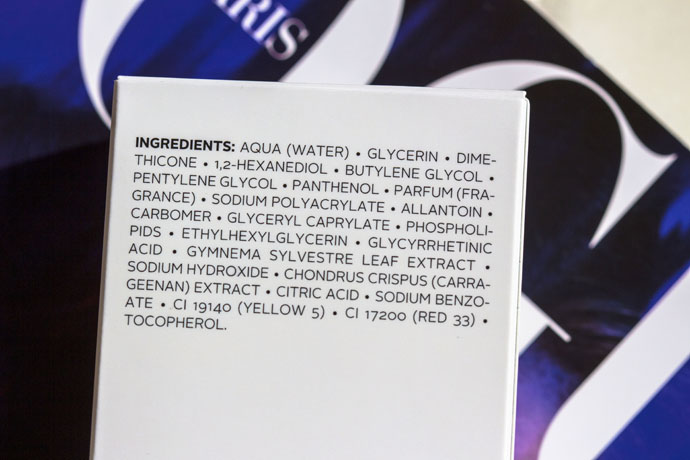 Maria Galland | Post-Epilation Anti-Regrowth Gel 427 (ingredients list)