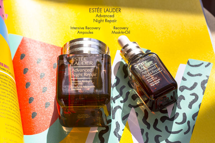 Estée Lauder | Advanced Night Repair Recovery Mask-In-Oil versus Intensive Recovery Ampoules