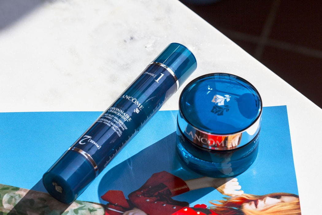 Lancôme | Visionnaire Crescendo Progressive Night Peel & Advanced Multi-Correcting Cream SPF 20