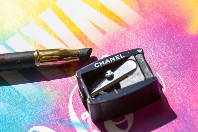 Chanel | Ombre Première Precision Eye Definer in 67 Prune Noire (smudge tip & sharpener)