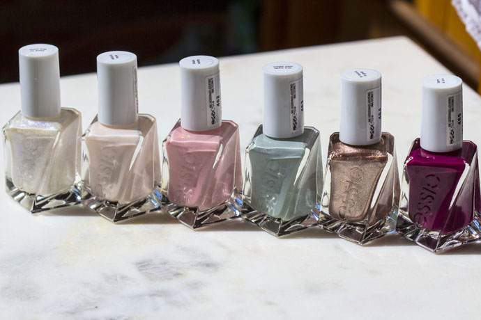 Essie Gel Couture Bridal Swatches