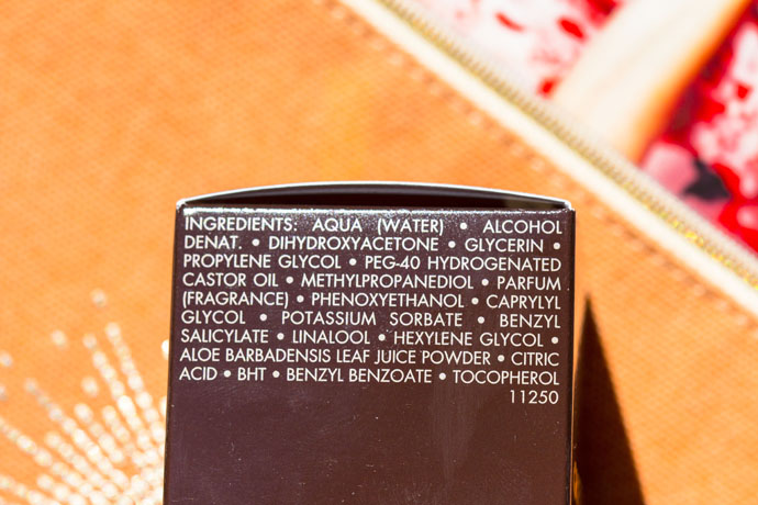 Guerlain | Terracotta Sunless (ingredients list)