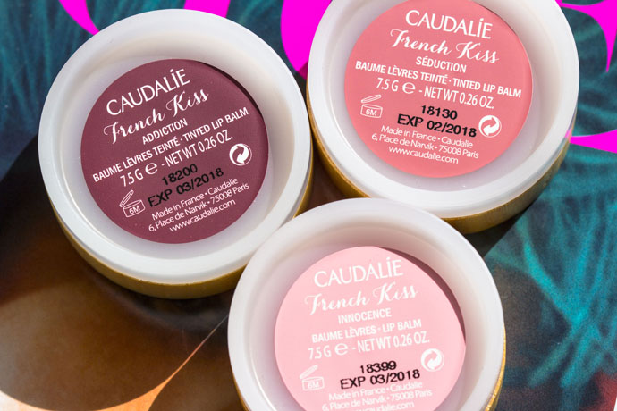 Caudalie | French Kiss Tinted Lip Balms