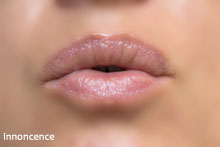Caudalie | French Kiss Tinted Lip Balm in Innocence (swatch)