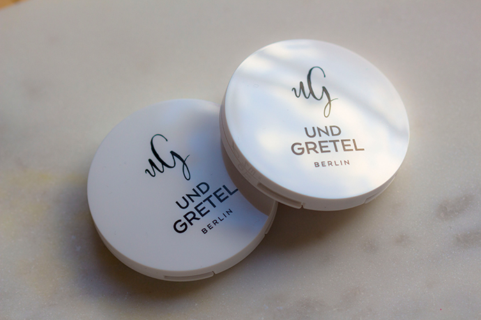 UND GRETEL Berlin | IMBE Eye Shadow in Seashell & Bark (detail)
