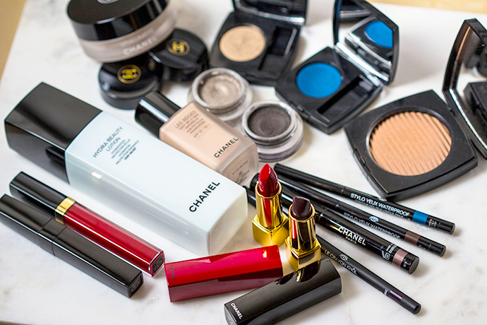 CHANEL Makeup products used for LOOK 1 & LOOK 2