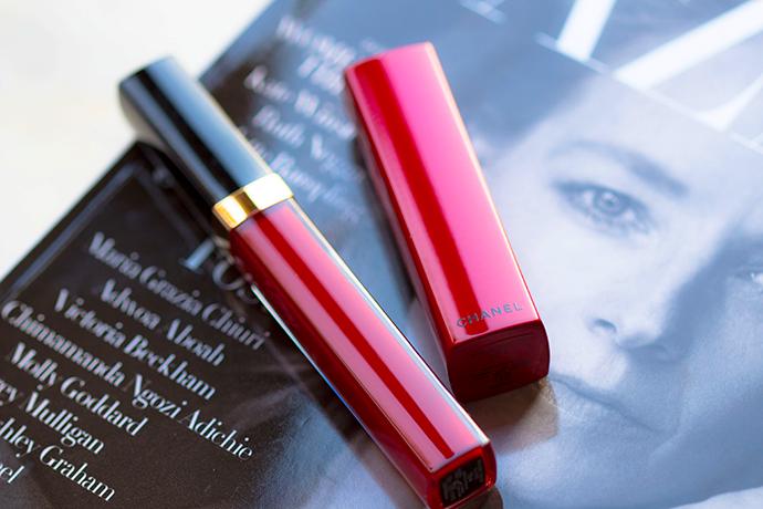 CHANEL | Numéros Rouges Collection Libre 2017 - #784 Romance Rouge Coco Gloss