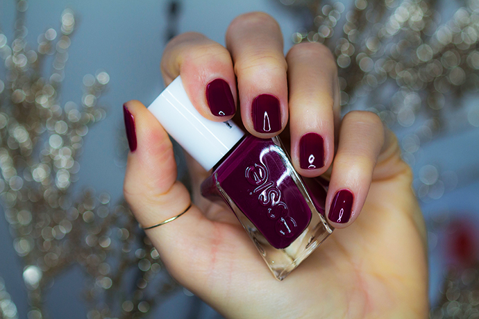 Essie | Gel Couture Holiday Collection for 2017 - Graced In Garnet