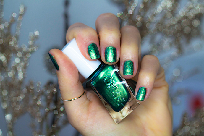 Essie | Gel Couture Holiday Collection for 2017 - Jade To Measure