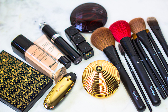 Guerlain   Makeup Products used for LOOK 1 & LOOK 2