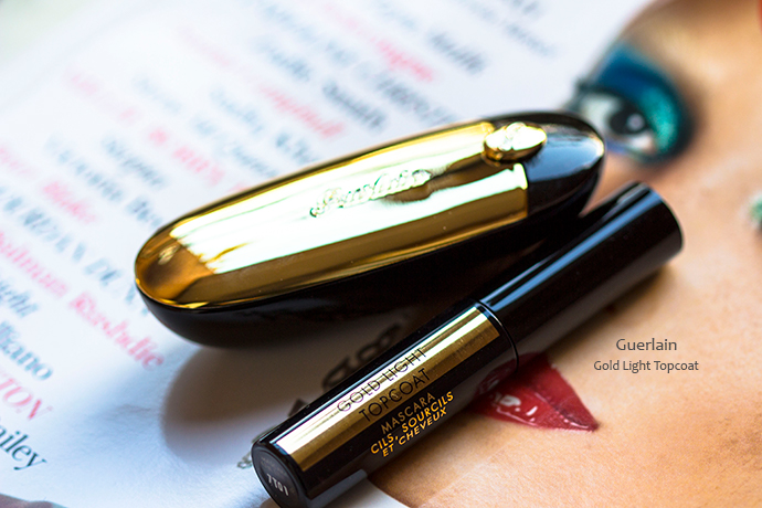 Guerlain | Holiday 2017 Makeup Collection - Gold Light Topcoat Mascara