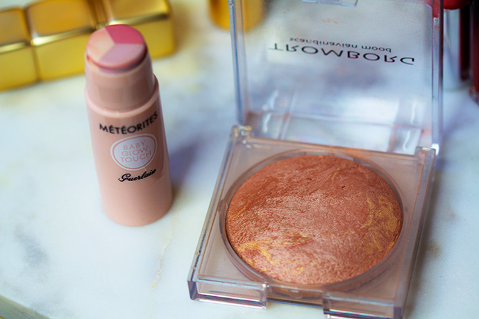 Best Highlighter | Météorites Baby Glow Tough by Guerlain & Baked Minerals by Tromborg