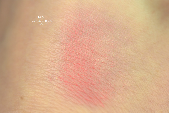 Best Blush | Les Beiges Blush by Chanel (shade: N°21)