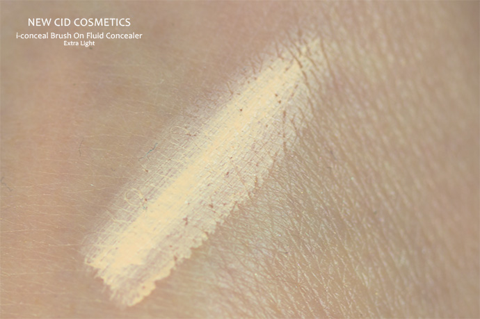Best Concealer | i-conceal Brush On Fluid Concealer by New CID Cosmetics (shade: Extra Light)