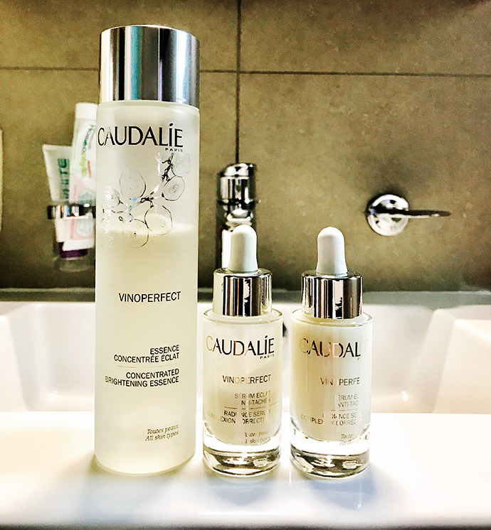 Caudalie | Concentrated Brightening Essence & Vinoperfect Radiance Serum (photo from Instagram)