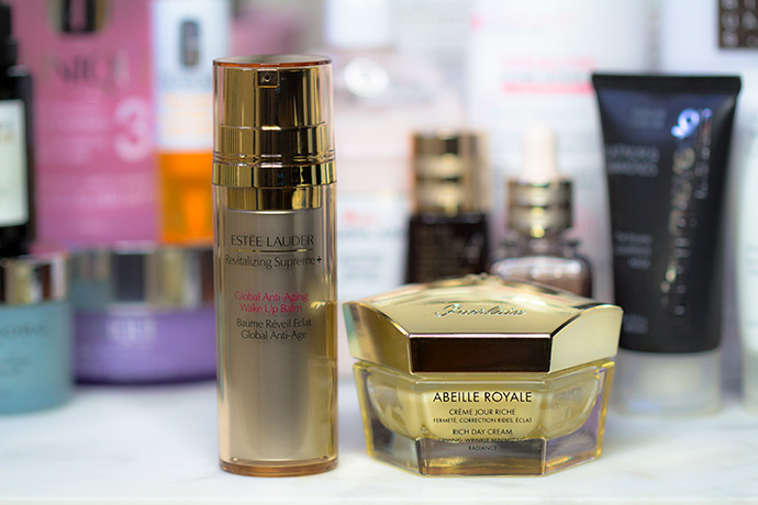 Guerlain | Abeille Royale Créme Jour Riche & Estée Lauder | Revitalizing Supreme Global Anti-Aging Wake Up Balm
