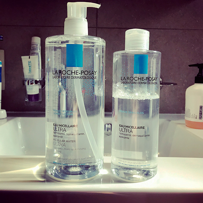 La Roche Posay | Micellar Water for Sensitive Skin (photo from Instagram)