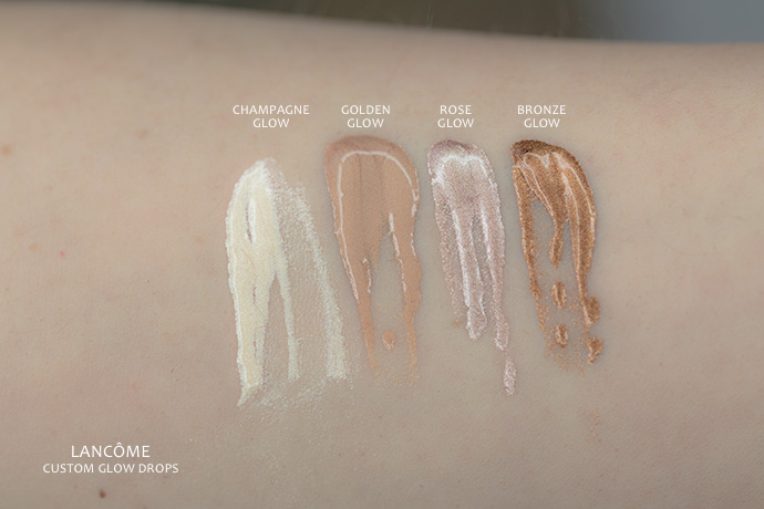 Lancôme | Custom Glow Drops (swatches)
