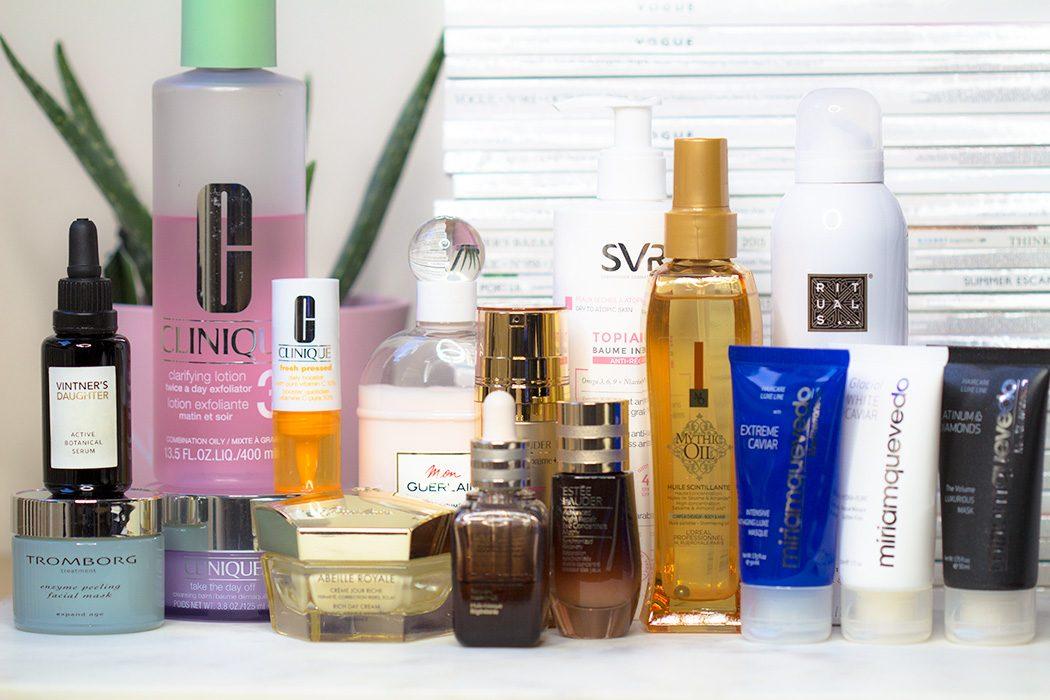 Les meilleurs produits de soin pour la peau 2017