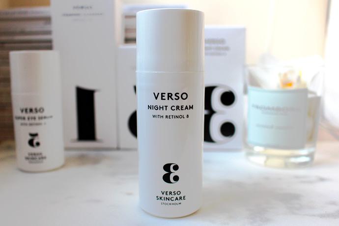 Verso Night Cream (crème de nuit)