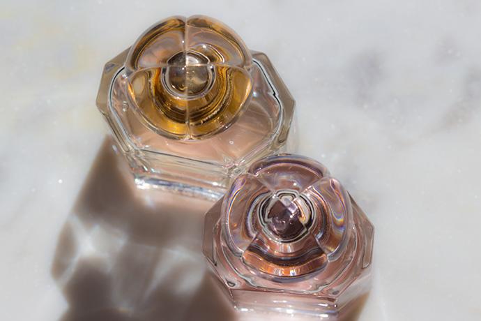 Guerlain | Mon Guerlain Eau De Parfum Florale vs. Mon Guerlain (cap detail)