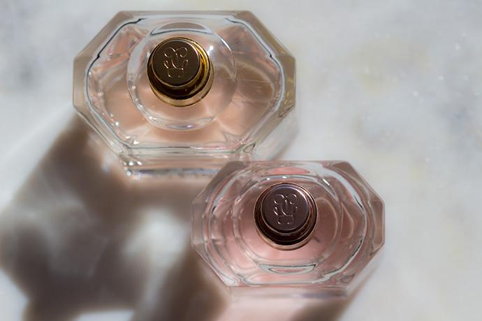 Guerlain | Mon Guerlain Eau De Parfum Florale vs. Mon Guerlain (atomizer detail)