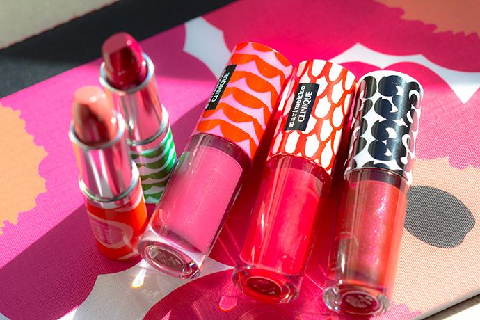 Clinique x Marimekko   Pop™ Lip Colour + Primer & Pop Splash™ Lip Gloss + Hydration