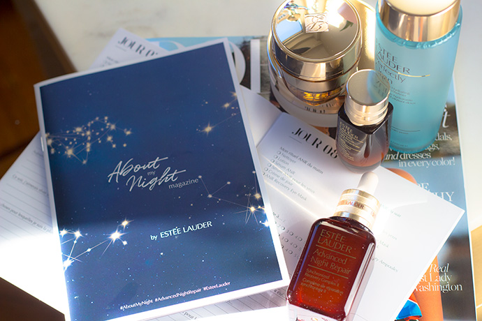 Estée Lauder I About My Night Beauty Box