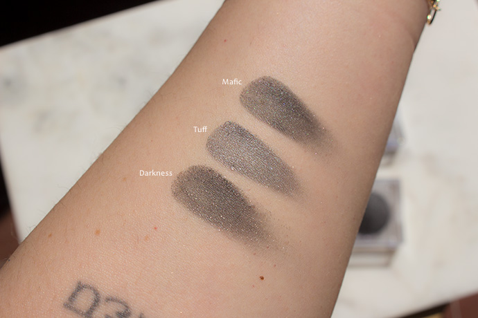 Tromborg | Baked Minerals Eye Shadows (swatches)