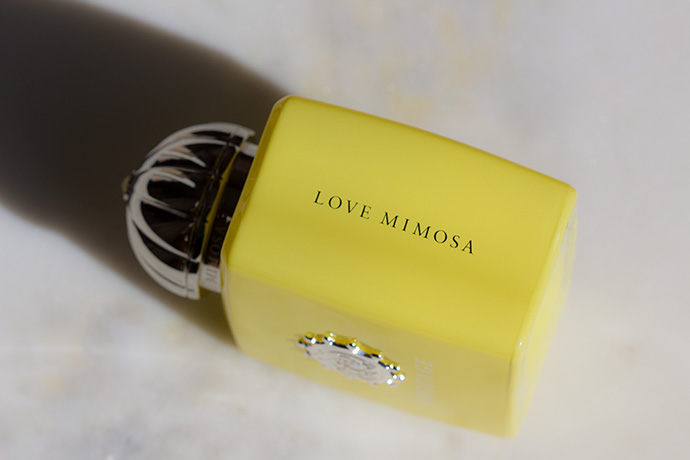 Amouage | Love Mimosa (bottle detail)